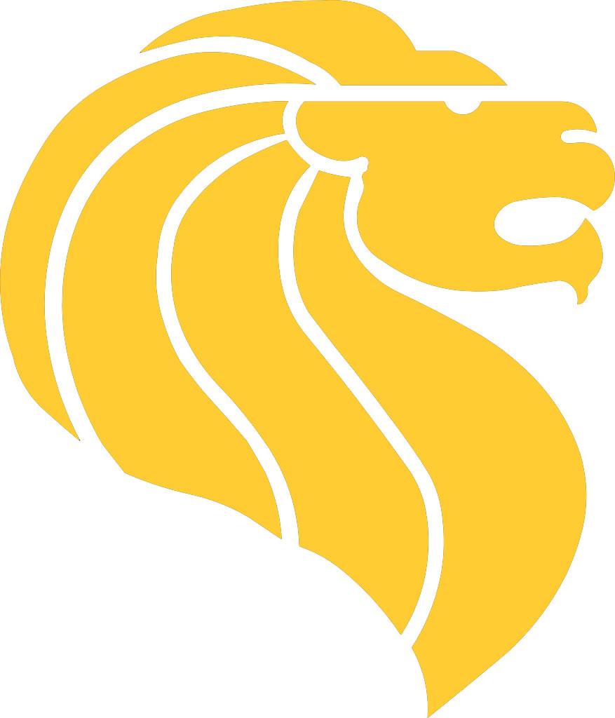 yellow lion logo - photo #3